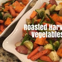 Day 8 of the 22 Days of Thanksgiving: Roasted Harvest Vegetables