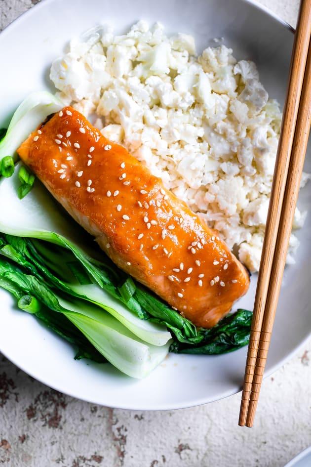 Miso Glazed Salmon Image