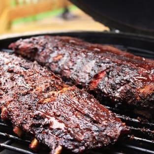 Smoked ribs photo