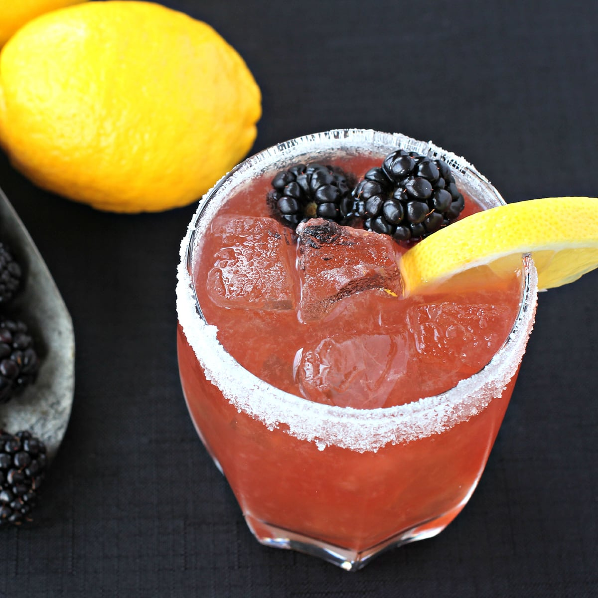 Blackberry Whiskey Sour Recipe - Food