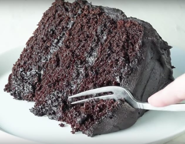 Slice of Choclate Cake