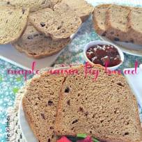 Maple Raisin Fig Bread