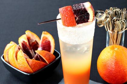 Blood Orange Gin Cooler