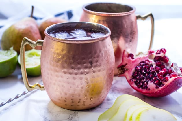 Pear Pomegranate Mule Photo