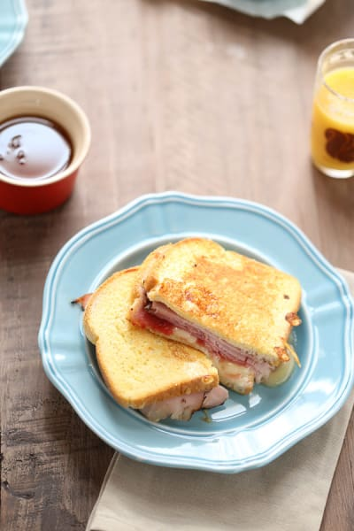 Ham and Brie French Toast Picture