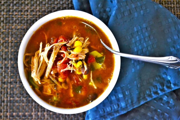 Mexican Chicken Soup Photo