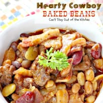 Hearty Cowboy Baked Beans