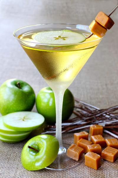 Caramel Apple Martini Image
