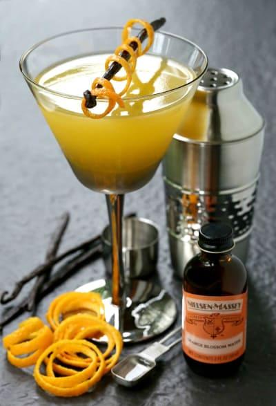Orange Blossom Vodka Martini Photo