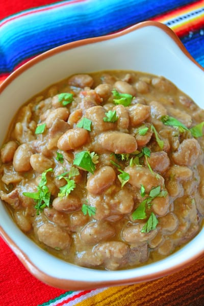 Slow Cooker Ranchero Beans Pic