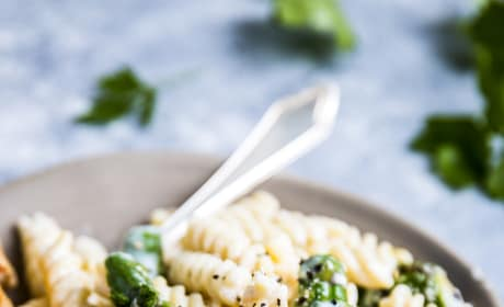 Chicken Asparagus Pasta Pic