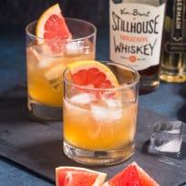 Grapefruit Whiskey Sour Recipe