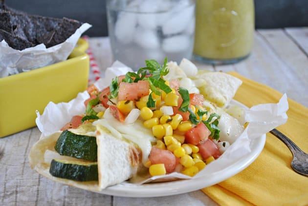 Vegetarian Enchiladas Photo