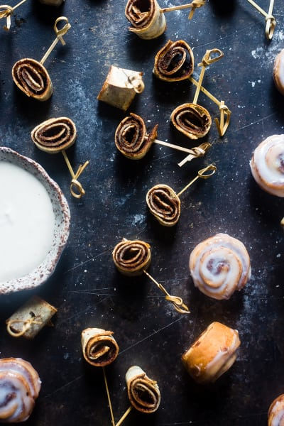 Vegan Cinnamon Roll Pinwheel Bites Image