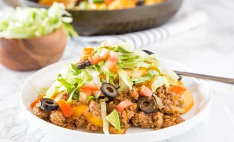Pierogies Taco Skillet Recipe