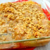 Snickerdoodle Cookie Dough Apple Crisp Recipe