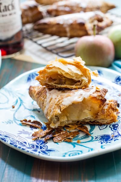 Rum Spiked Apple Turnovers Image