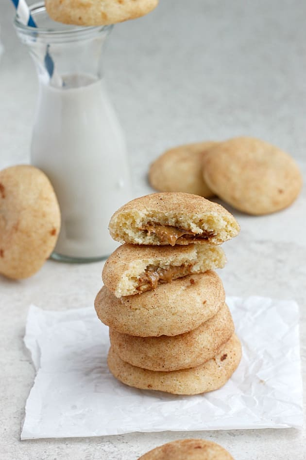 Biscoff Stuffed Vanilla Bean Snickerdoodles: So Good ...