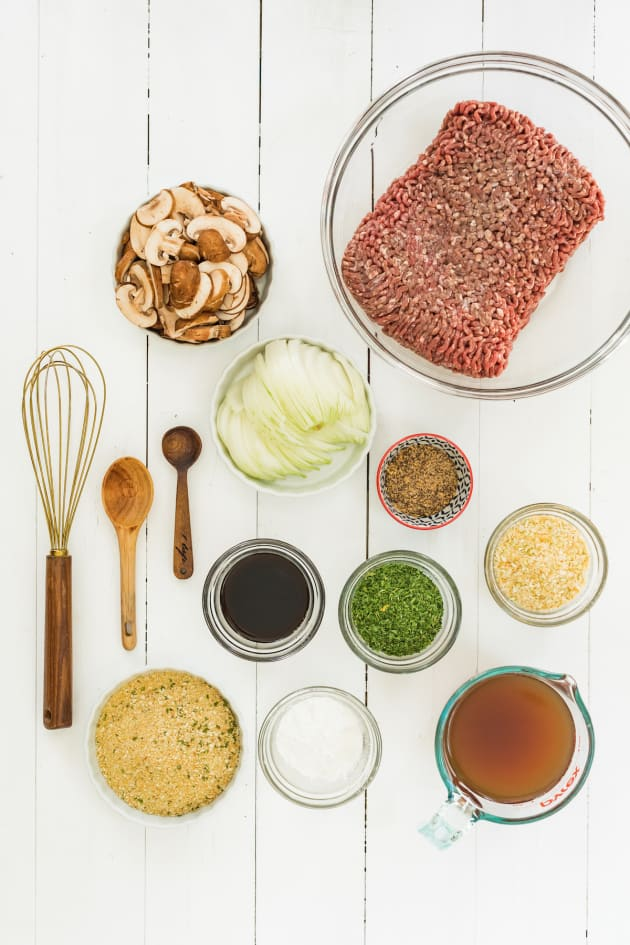 Slow Cooker Salisbury Steak Ingredients Photo