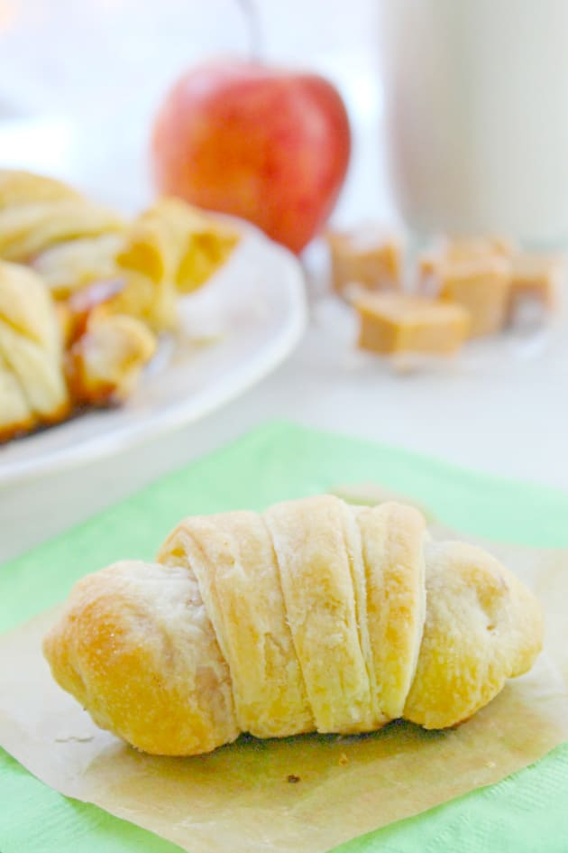 Caramel Apple Croissants Image
