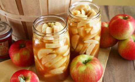 Apple Pie Filling Picture