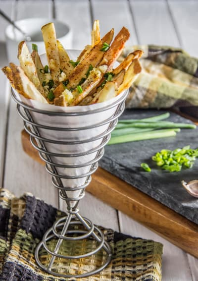 Herb & Garlic Oven Fries Image