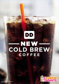 Cold Brew Iced Coffee: Coming to Dunkin' Donuts!