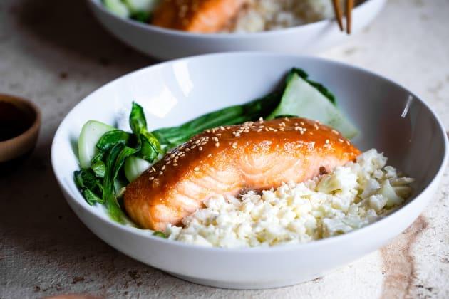 Miso Glazed Salmon Photo
