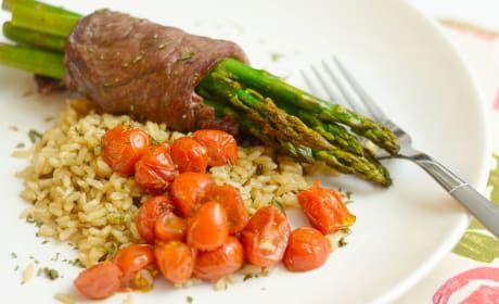 Steak Wrapped Asparagus Pic