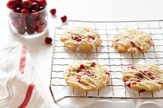 Orange Cranberry Cookies Photo