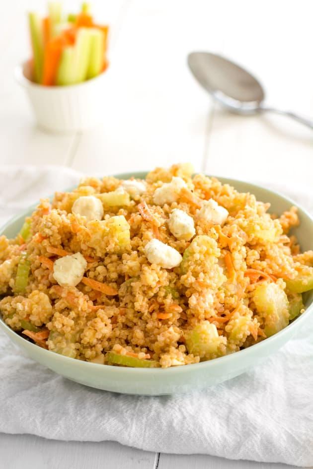 Buffalo Chicken Quinoa Salad Picture