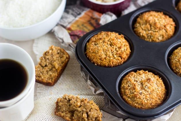 Coconut Almond Muffins Photo