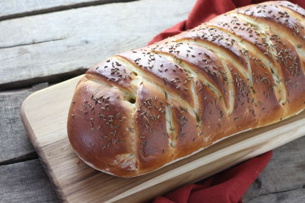 Reuben Bread Picture