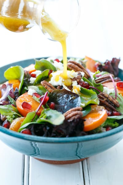 Winter Salad with Citrus Vinaigrette Pic