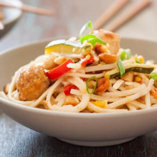 Gluten free pad thai photo