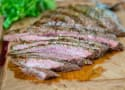 Grilled Chile Lime Flank Steak Recipe
