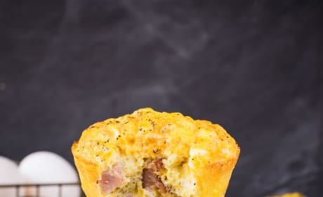 Baked Ham and Cheese Egg Muffins Pic