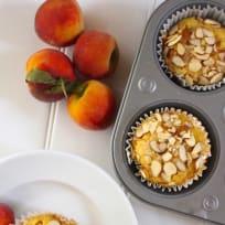 Peach Power Muffins