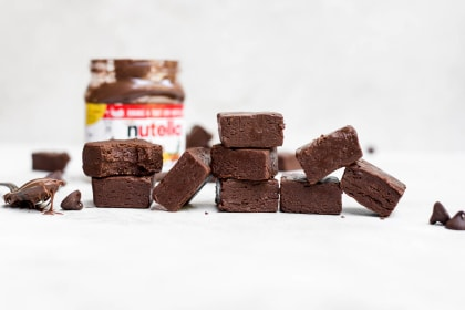 Nutella Fudge Recipe