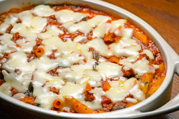 Baked Ziti with Spinach Image