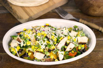Chipotle Burrito Bowl: Homemade and Hot!