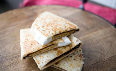 S'mores Quesadilla Recipe