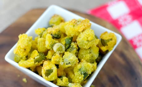 Gluten Free Fried Okra Recipe