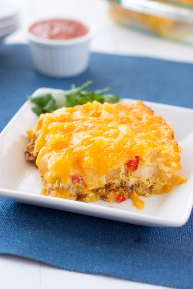 Southwestern Breakfast Casserole - Food Fanatic