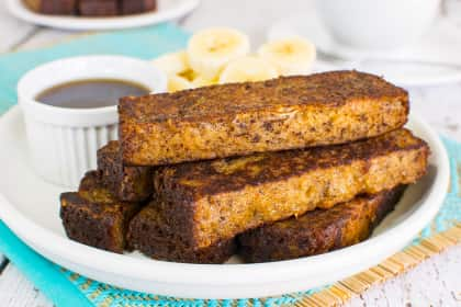 Banana Bread French Toast Sticks