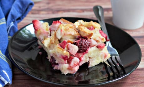 Overnight Berry French Toast Recipe