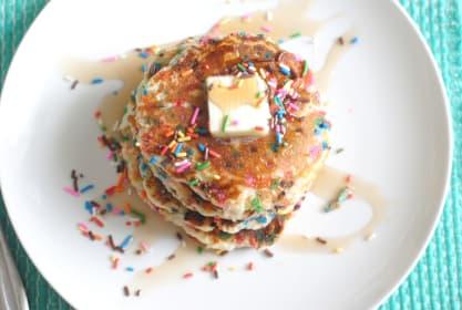 Gluten Free Funfetti Pancakes