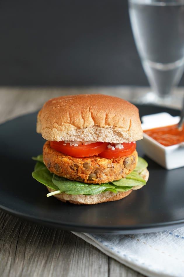 Lentil Burger Pic