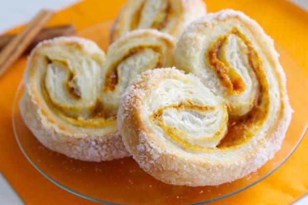 Pumpkin Spice Palmiers - Food Fanatic
