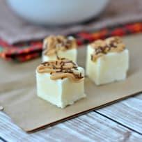 Peanut Butter Banana Fudge Recipe